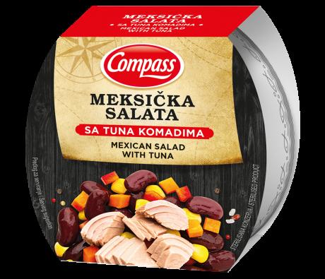 Compass-Meksička salata sa tunjevinom160g